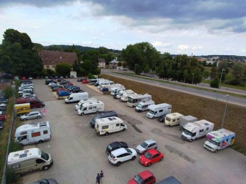 Parkplatz Unterer Wöhrd Regensburg